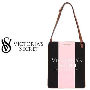 Victoria's Secret Canvas Cross Body Tote
